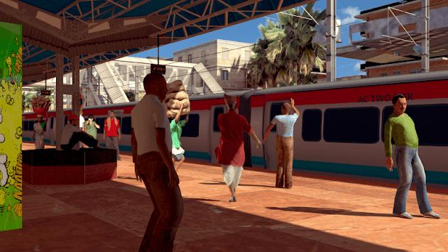 Indian Train Driving 2019 APK screenshot 1