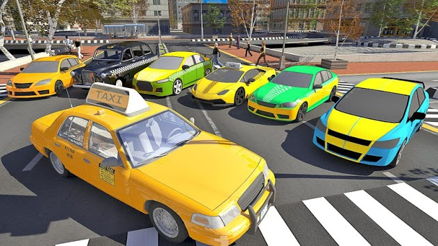 Taxi Sim 2019 APK screenshot 1