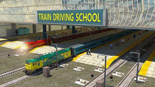 Train Driving School APK screenshot 1