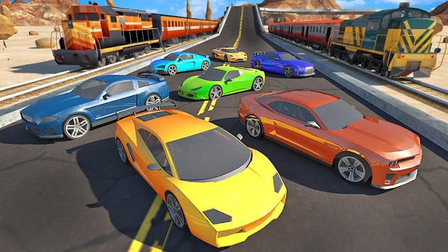 Trains vs. Cars APK screenshot 1