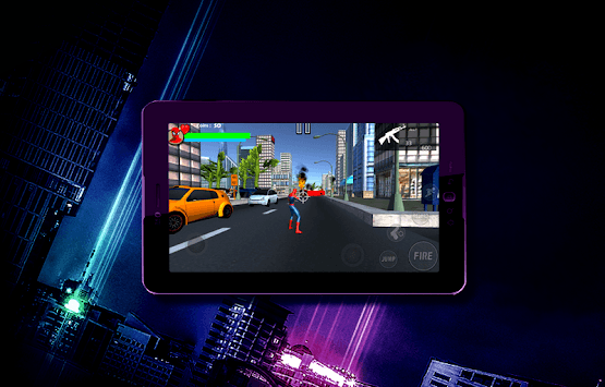 The Amazing Spider Fire APK screenshot 1