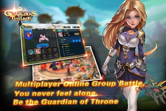 Guardians of Throne APK screenshot 1