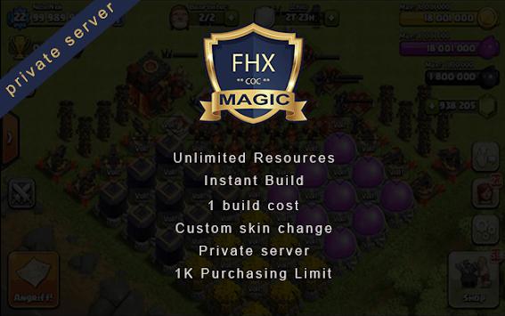 Clash Magic of FHX Server COC Magic Edition APK screenshot 1