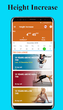 Height Increase Exercise - Workout height increase APK screenshot 1
