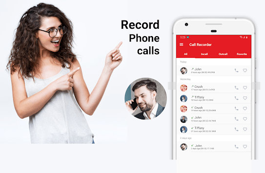Easy Call Recorder - Automatic call recorder APK screenshot 1