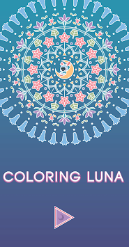 Coloring Luna - Coloring Book APK screenshot 1