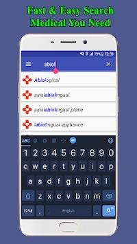 Medical Terminology Dictionary | Free & Offline APK screenshot 1