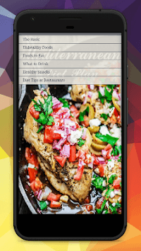 Mediterranean Diet Meal Plan APK screenshot 1