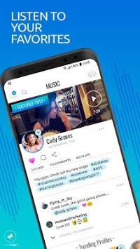HearMeOut - Voice Social Network APK screenshot 1