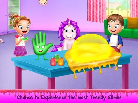 Rainbow Unicorn Slime Maker - Jelly Toy Fun APK screenshot 1