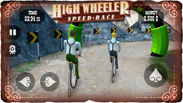 High Wheeler Speed Race APK screenshot 1