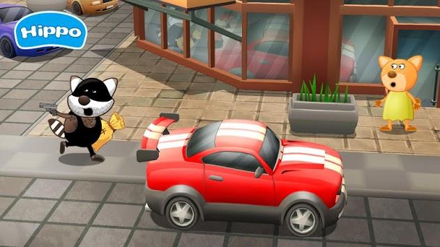 Professions for kids: Driver 3D APK screenshot 1