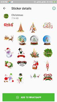 New Year Stickers for Whatsapp (WAStickerApps) APK screenshot 1