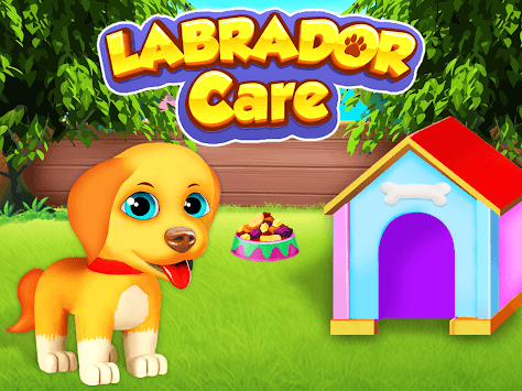 Labrador Pet Care - Puppy Love Simulator APK screenshot 1