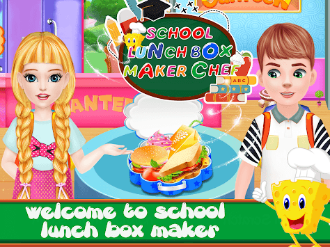 Lunch Box Maker Food Chef APK screenshot 1