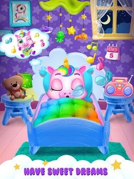 Unicorn Care Nanny Pet House APK screenshot 1