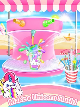 Unicorn Ice Slush Maker APK screenshot 1