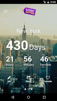 Holiday Countdown APK screenshot 1