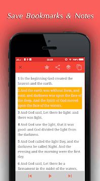 King James Bible Audio - KJV Offline Holy Bible APK screenshot 1