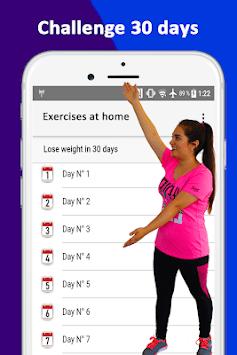 Home Workout APK screenshot 1