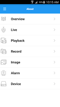 HomeSafe View APK screenshot 1