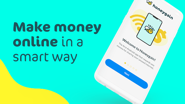 Honeygain - Make Money From Home APK screenshot 1