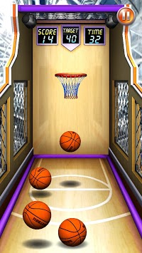 Basketball Shot Mania APK screenshot 1