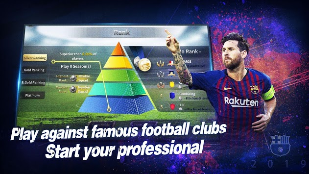 Champions Manager Mobasaka: 2019 New Football Game APK screenshot 1