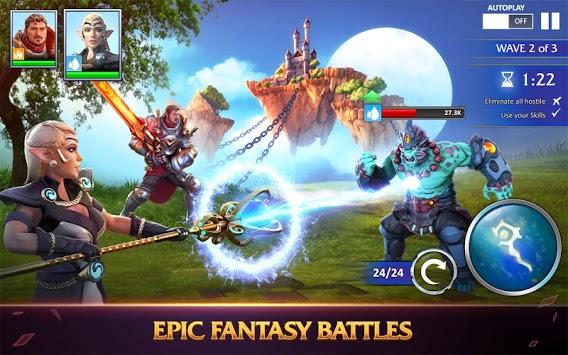 Forged Fantasy APK screenshot 1