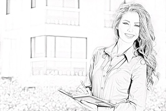 Pencil Photo Sketch-Sketching Drawing Photo Editor APK screenshot 1