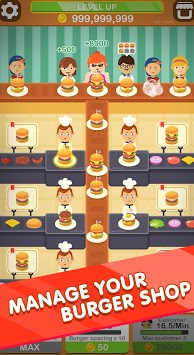Burger Tapper - Idle & Fun Food Maker Game 🍔 APK screenshot 1