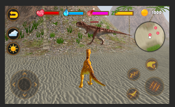 Talking Velociraptor APK screenshot 1