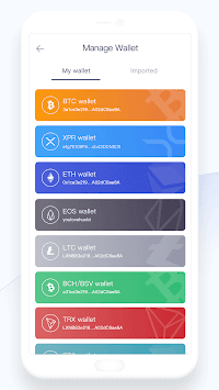 Huobi Wallet APK screenshot 1