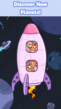 Monkeynauts: Merge Monkeys! APK screenshot 1