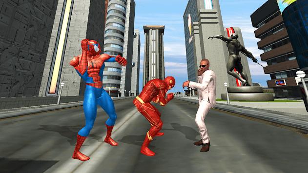 amazing super hero flash game APK screenshot 1