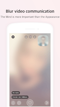 Blurry - Blur Video Chat APK screenshot 1