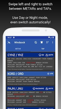 Windsock - Automatic METAR/TAF APK screenshot 1