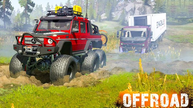 Uphill Crazy Jeep Driving 2019 - Offroad 🚙 APK screenshot 1