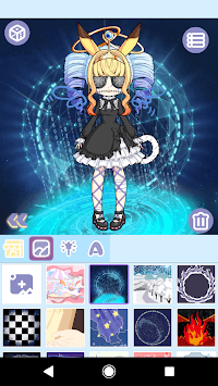 Magical Girl Dress Up: Magical Monster Avatar APK screenshot 1