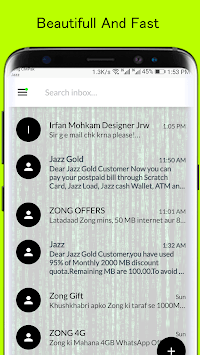 Hacker SMS Theme APK screenshot 1