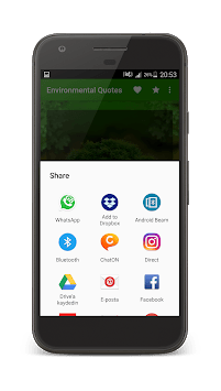 Environmental Quotes APK screenshot 1