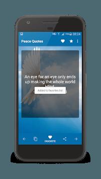 Peace Quotes APK screenshot 1