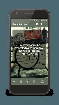 Respect Quotes APK screenshot 1