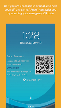 iCE Angel – ID™ Global Emergency Medical Alert SOS APK screenshot 1