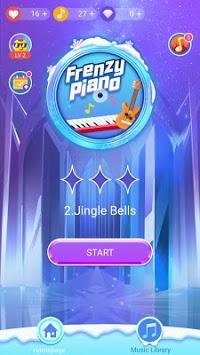 Frenzy Piano — Free music and high-level reward APK screenshot 1