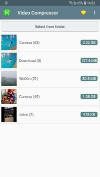 Video Compressor - Fast Compress Video & Photo APK screenshot 1