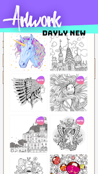Paint.Book Coloring Book -Color & Paint via Number APK screenshot 1