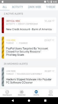 Identity Guard with Watson APK screenshot 1
