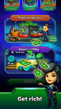 SCV Miner - Click & Idle Tycoon APK screenshot 1