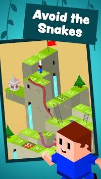 🐍 Snakes and Ladders Saga - Free Board Games 🎲 APK screenshot 1
